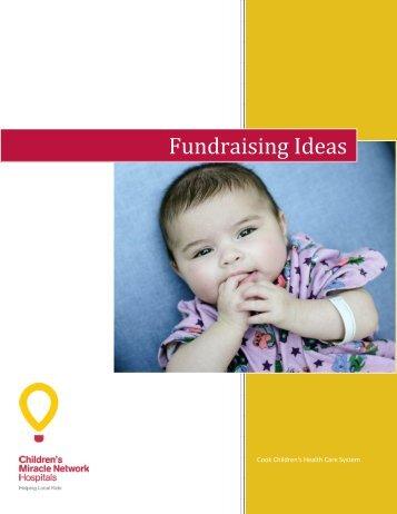 Fundraising Ideas - Cook Children's