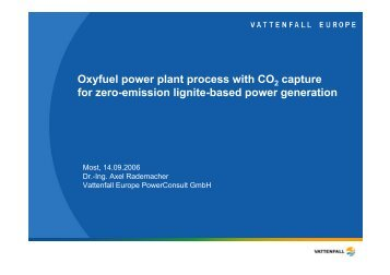 Vattenfall-Rademacher - World Energy Council