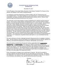 VA Performance and Accountability Report - AmVets