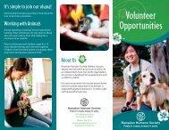 About Volunteering - Hawaiian Humane Society