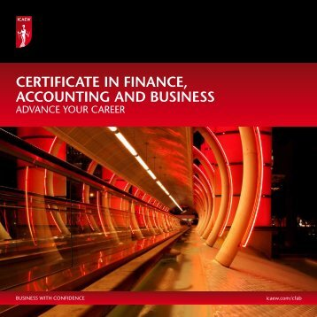 CFAB | ICAEW - Emirates Institute for Banking and Financial Studies