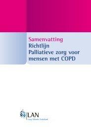 Samenvatting Richtlijn Palliatieve zorg voor mensen met COPD