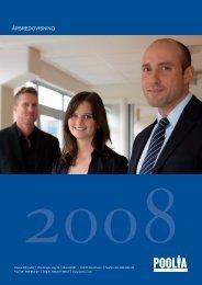 Ladda ner PDF-version av årsredovisningen 2008 här - Poolia