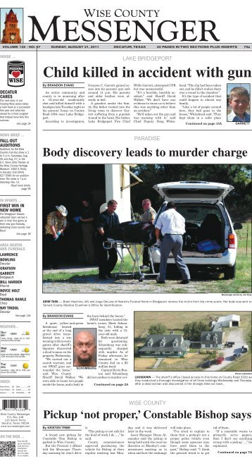 08-21-2011-Sunday - Wise County Messenger