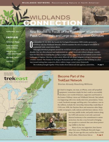 Spring 2011 - Wildlands Network