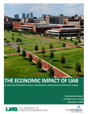 Final UAB EIR Executive Report 11042010 - University of Alabama ...