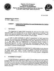 AO 2006-0014 - Health Emergency Management Staff - DOH