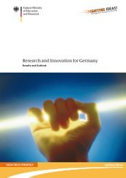 Research and Innovation for Germany - Hightech-Strategie