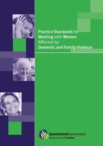 Practice Standards for Working with Women Affected by Domestic ...