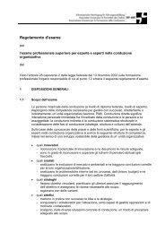 Regolamento d'esame / PDF