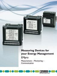 Measuring Devices for your Energy Management EMpro