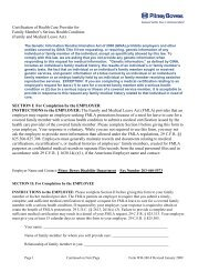Certification of Health Care for Family Members form - PROJECT ...