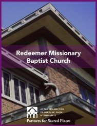 Redeemer Missionary Baptist Church - Partners for Sacred Places