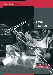 tig series - Lincoln Electric - documentations