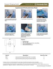 Laparoscopic/Cholecystectomy Drape Surgical Draping Guide