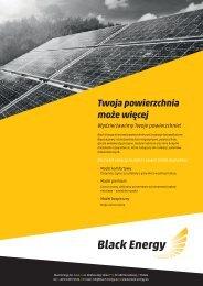 Pobierz folder informacyjny (PDF) - Black Energy
