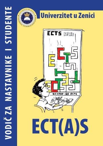 ECT(A)S - vodič za nastavnike i studente - Univerzitet u Zenici