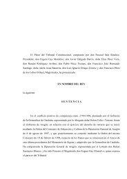 Sentencia del Tribunal Constitucional - Heraldo de Aragón