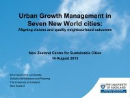 Urban growth management in seven new world cities: Aligning ...