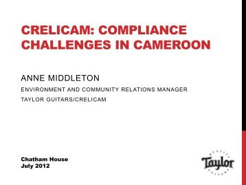 Anne Middleton - Chatham House