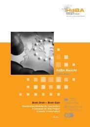 Brain Drain - Hochschule der Bundesagentur für Arbeit