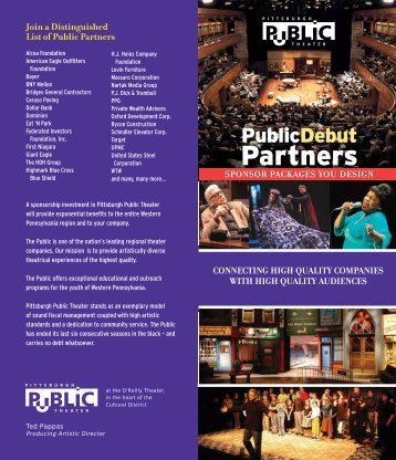Partners - Pittsburgh Public Theater