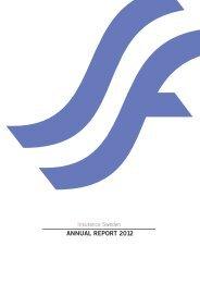 ANNUAL REPORT 2012 - Svensk Försäkring