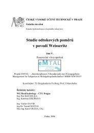 ČESKÉ VYSOKÉ UČENÍ TECHNICKÉ V PRAZE - Katedra ...