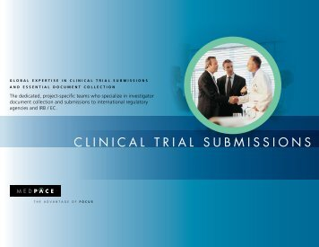 CLINICAL TRIAL SUBMISSIONS - Medpace