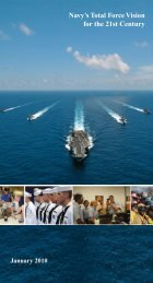 Navy's Total Force Vision for the 21st Century - U.S. Navy