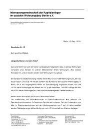 Newsletter 15 - Interessengemeinschaft der Kapitalanleger im ...