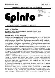 Epinfo - 2009. 16. évf. 30. sz. - EPA