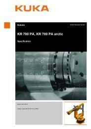 KR 700 PA, KR 700 PA arctic - KUKA Robotics