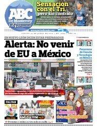 Alerta: No venir de EU a México - Periodicoabc.mx