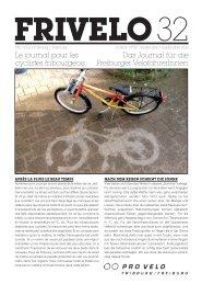 PDF (2.9 MB) - PRO VELO Fribourg / Freiburg