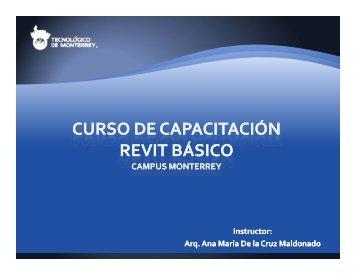 Instructor: Arq. Arq. Ana María De la Cruz Maldonado Ana María De ...