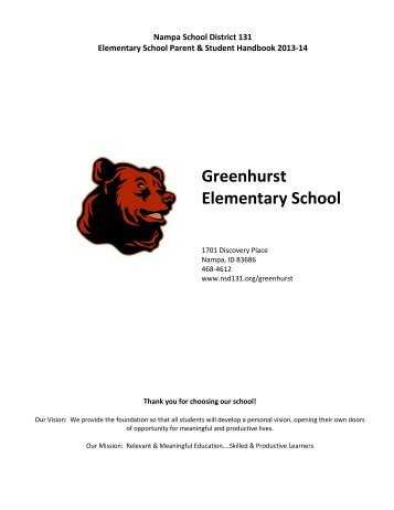 Greenhurst Elementary School - NSD Main