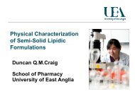 Physical Characterization of Semi-Solid Lipidic Formulations