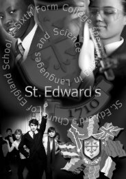 St Edward's Main Insert 2010:Layout 1 - St Edward's C of E School