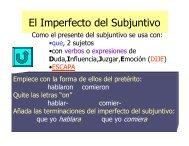 El Imperfecto del Subjuntivo - Mona Shores Blogs