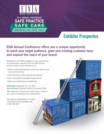 Exhibitor Prospectus - Emergency Nurses Association