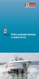 Police cantonale bernoise: La police du lac
