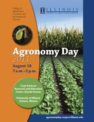 2011 Agronomy Day Program