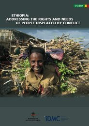 Ethiopia report_2.indd - Internal Displacement Monitoring Centre