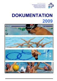 DOKUMENTATION 2009 - Schweizerischer Schwimmverband