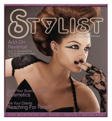 August - Stylist and Salon Newspapers