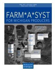 Farm*A*Syst - Michigan Water Stewardship Program