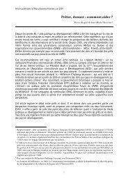 Prêter, donner : comment aider ? - Agence Française de ...