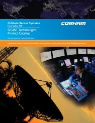Cobham Catalog