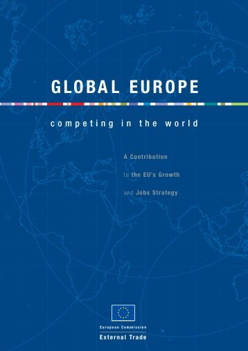 Global Europe: Competing in the World - Europa